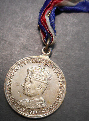 Australia 1937 George VI & Elizabeth - Launceston  Coronation Medallion 29mm