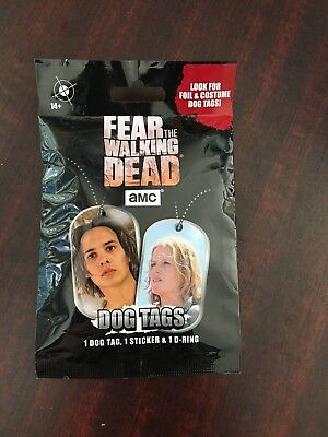 Fear the Walking Dead Dog Tags Unopened Pack