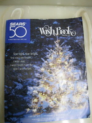 2003 Sears Canada 50 Years Christmas Wish Book Catalogue
