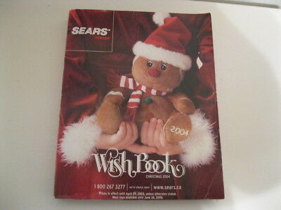 2004 Sears Canada Christmas Wish Book Catalogue