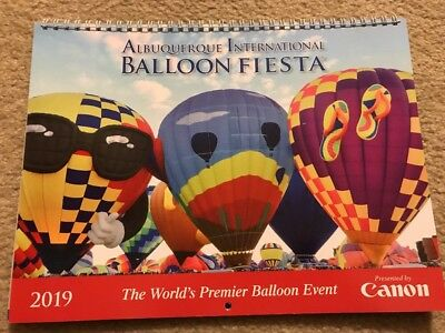 Albuquerque International Balloon Fiesta 2019 Calendar