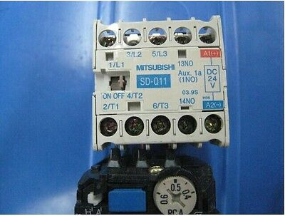 USED MITSUBISHI Dc contactor SD-Q11 DC24V tested