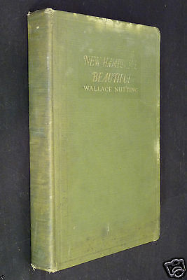 New Hampshire Beautiful, Wallace Nutting, 1923 HC, illustrated with 304 pictures