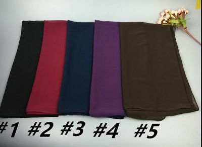 H29 Top quality 180*85cm Big size bubble chiffon hijab women scarf scarves shawl