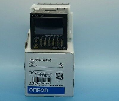 Omron Counter H7CX-AWD1-N New In Box