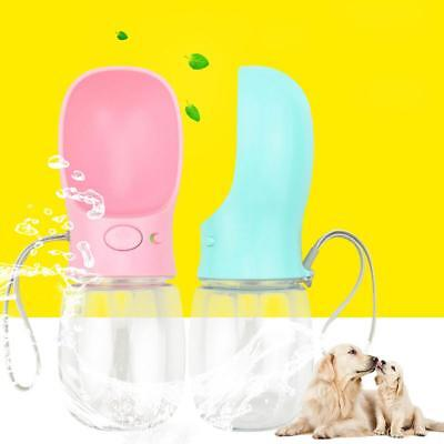 Cup Puppy Dog Cat Pet Water Bottle Drinking Travel Outdoor Portable Feeder Auto