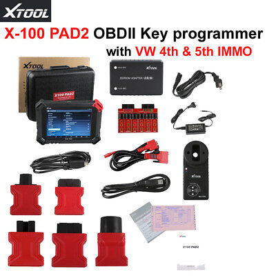 Nuevo Xtool X-100 PAD2 Auto Progarmmer Special Functions with   4th & 5th IMMO