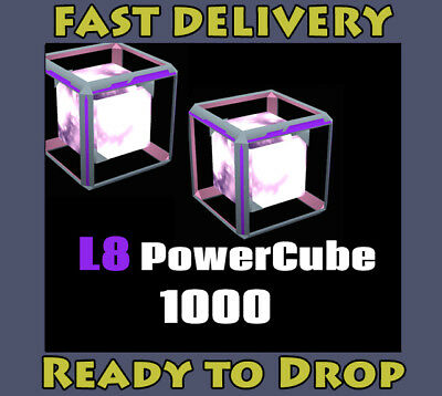 INGRESS L8 Power Cube x 1000pcs. # Ingress v1.0 & PRIME Valid Items #
