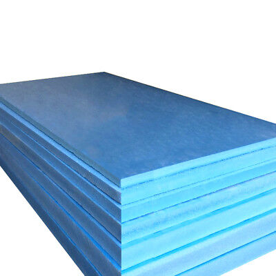 10-40PC XPS Heating Undertile Electric Underfloor Insulation Boards 10MM 7.2m2