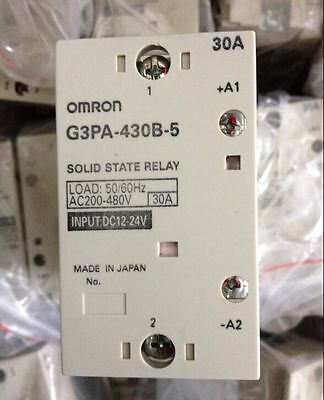 1PC New Omron solid state Relay G3PA-430B-5 12-24VDC