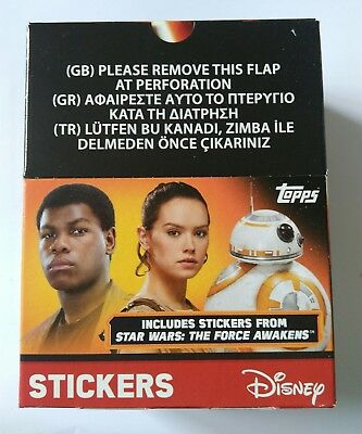 Topps Disney Star Wars The Force Awakens Part 1 Stickers