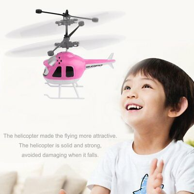Mini RC Drone Flying RC Helicopter Infrared Induction Aircraft Kids UFO Toys BT