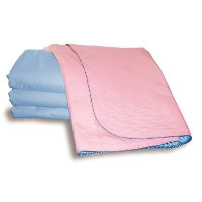 Double Incontinence Washable Bed Pad 85 x 115 cm, With Tucks, Reusable