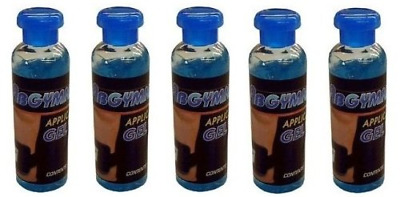 5x100ml Original ABGYMNIC Highly Conductive Gel for TENS, EMS and other Toning P