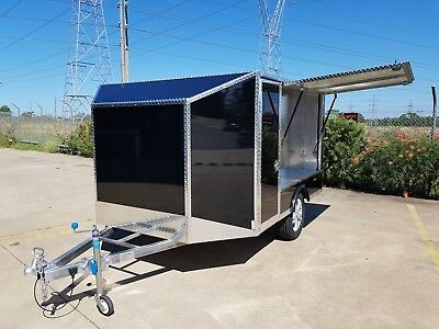 Go-Kart  Trailer + New Alloy Wheels & Tyres
