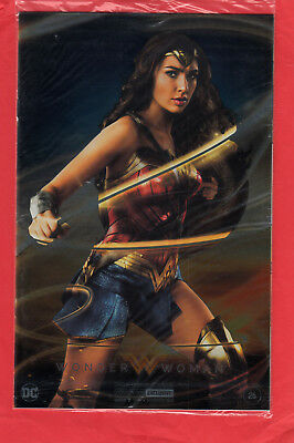 WONDER WOMAN #26 Comic SDCC 2017 FOIL Exclusive GAL GADOT Cover UNOPENED