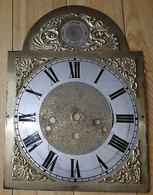 Antique/Vintage Longcase / Grandfather Clock Arched Dial