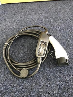 EV Charging Cable, Mitsubishi Outlander PHEV, Type 1, UK 3 pin plug 10m