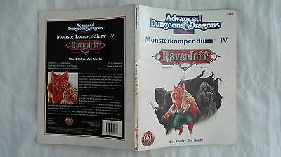 Ad&d Advanced Dungeons & Dragons Monsterkompendium Iv 4 Ravenloft