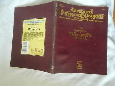 THE COMPLETE WIZARDS HANDBOOK 2nd ADVANCED DUNGEONS & DRAGONS