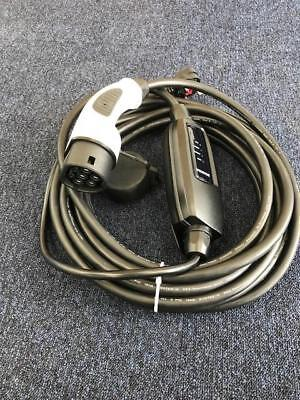 EV Charging Cable, Type 2 10m, UK plug, Volkswagen Golf GTE