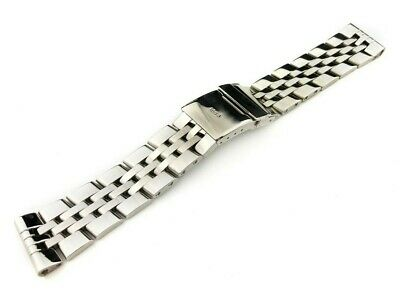 22mm Stainless Steel Strap Band Bracelet fit BREITLING CHRONOMAT CROSSWIND Watch