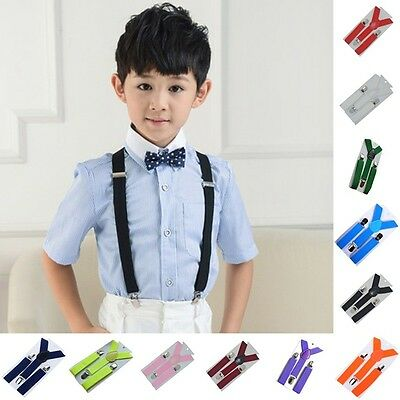Unisex Boys Girls Baby Toddler Children Adjustable Washable Braces Suspenders*