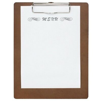 Special Offer Wooden Menu Presentation Clipboard A4 x10 (Pack of 10)