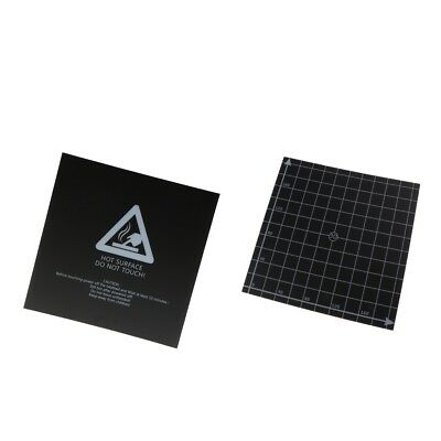 Pack of 2 3D Printing Build Surface Heated Bed Platform Sticker 220x220mm