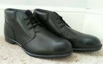 "Royal Navy ""Steaming Bats"". Naval working boots on board ship. Steel toe size 8"