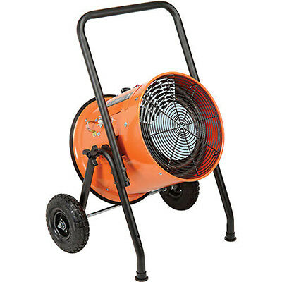 Portable Salamander Heater with 8'L Cord, 240V, 10KW (Comparable to TPI Fostoria
