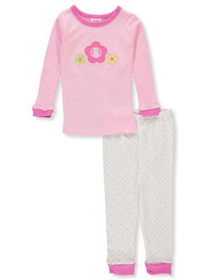 Sweet & Soft Baby Girls' 2-Piece Pajama Set