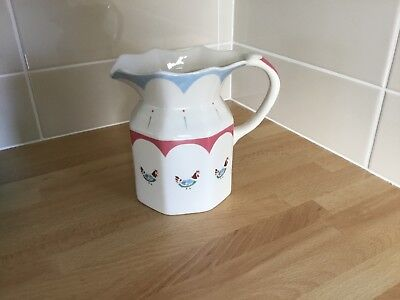 Johnson Brothers Farmhouse Chic Large Milk Jug Chicken