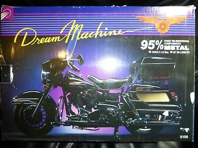 Dream Machine Motorcycle 1/6 Scale 700 Piece Fully Assembled - Incredible!