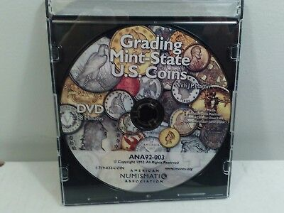 Grading mint State US coins DVD 88 minutes ANA Martin 1032