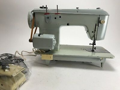 VINTAGE BROTHER CHARGER 40 Sewing Machine Teal Cream Turquoise Stunning Brother Charger 651 Sewing Machine Manual