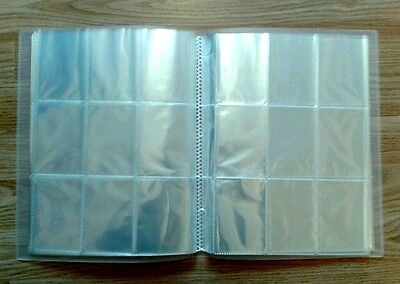 Empty Trading Card Folder/ Binder/ Album 24,26,28,30,32 Sleeves - Pick/choose