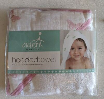 Aden And Anais Hooded Towel Butterflies