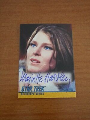 Star Trek TOS Season 3 Mariette Hartley as Zarabeth A85 Auto Autograph Card