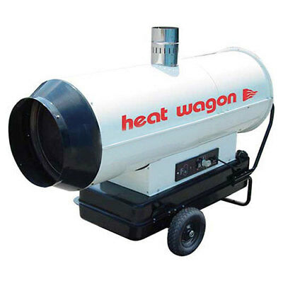 Heat Wagon Oil Indirect Fired Heater, 205K BTU, Ductable, Lot of 1