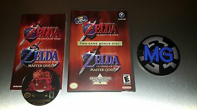 The Legend of Zelda Ocarina of Time Master Quest ☆ Complete ☆ Nintendo Gamecube