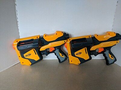 Lot of 2 Nerf dart tag blasters