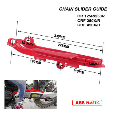 Chain Slider Swingarm Guide For Honda CR125R CR250R CRF250R CRF250X CRF450R/450X