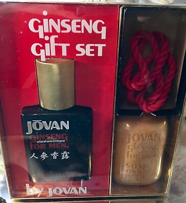 *GINSENG by JOVAN*  *4 FL OZ COLOGNE/AS*EXTREMELY RARE & HARD TO FIND* *VINTAGE*