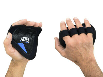 Grip Pads Fitness Body Building Crossfit Gym Gloves Hand Protection Bar Grips