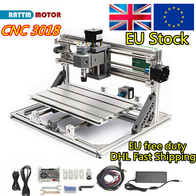 DIY mini CNC 3018 GRBL Control Laser Machine Engraving Milling PCB Wood Router