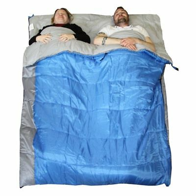 Sleeping Bag Double XL 4 Season 400gsm CONVERTS