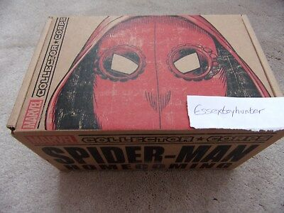 Marvel Collector Corps SPIDER-MAN HOMECOMING Complete Box NEW Funko S L or XL