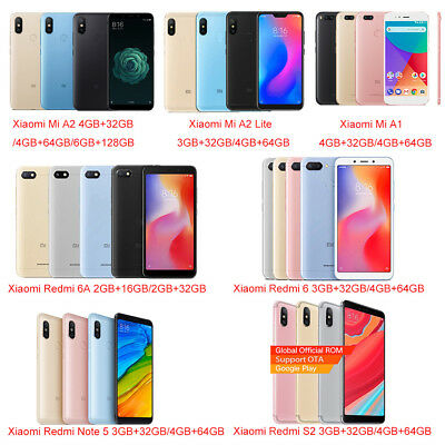 Xiaomi Mi A2 4G Smartphone Snapdragon 660 AIE Octa Core 64GB/128GB Android One
