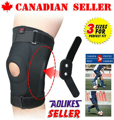 Double Hinged Full Knee Support Brace Knee Protection Regular,Large & XL CA SELL